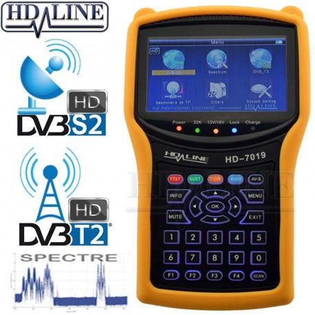 HD-LINE HD-7019 COMBO DVB-S2 / DVB-T2 + Spectre HD