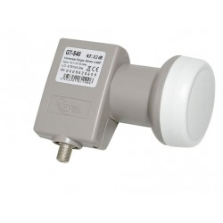 LNB SINGLE GT-SAT GT-S40 Gain 55 dB 0.2 dB