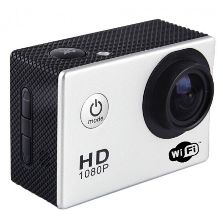 "Mini camera sport  - WIFI -  HD 1080p LCD 1,5"" TFT 170 degres Waterproof + accessoires"
