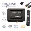 HD-LINE 1000 HD demodulateur satellite FTA  IPTV