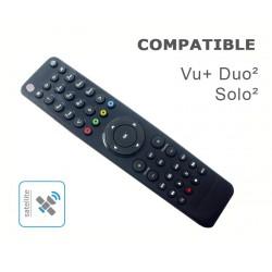 Télécommande compatible Vu+ Solo2 / Duo2 pour démodulateurs Vu+