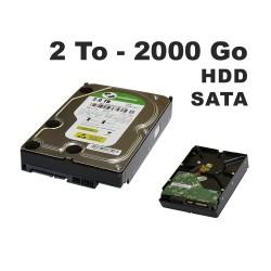 Disque dur SATA 2 To 64 Mo Cache - Enregistrement  Videosurveillance