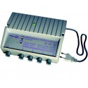 AXITRONIC AMPLIFICATEUR INTERIEUR 20dB REGLABLE UHF/VHF 4 SORTIES
