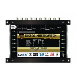 HD-LINE PRO MULTISWITCH 10/12 - 2 SATELLITES (+1 SAT 1 POLARITE) - 1 TERRESTRE / 12 DEMOS