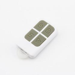 Télécommande BLANCHE pour système d'alarme KR-8218G - Fréquence 433 MHz - Accessoires centrale sans fil
