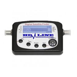 HD-LINE DIGITAL SATFINDER POINTEUR SATELLITE REGLAGE PARABOLE