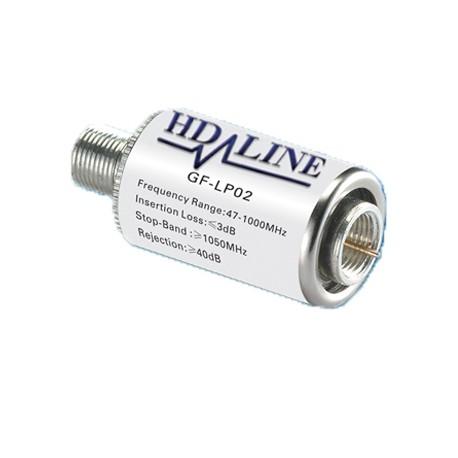HD-LINE FILTER amplificateur ligne 40dB TERRESTRE DVB-T TNT