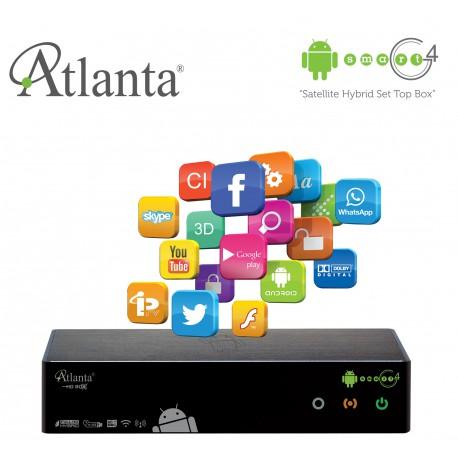 Atlanta HD BOX SMART G4 ANDROID-HYBRID