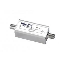 HD-LINE Ampli de ligne 30dB  amplificateur parabole SAT 450-2150