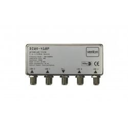 Venton DiSEqC 4/1 Switch Premium Line 418P compatible drambox VU+