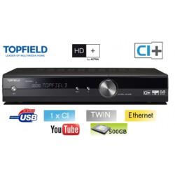 Topfield SRP 2401 CI+ - Terminal numérique HD - Double tuner - HDD 1TB 1000GB - 1 x CI - 1 x CI+ - USB - Ethernet